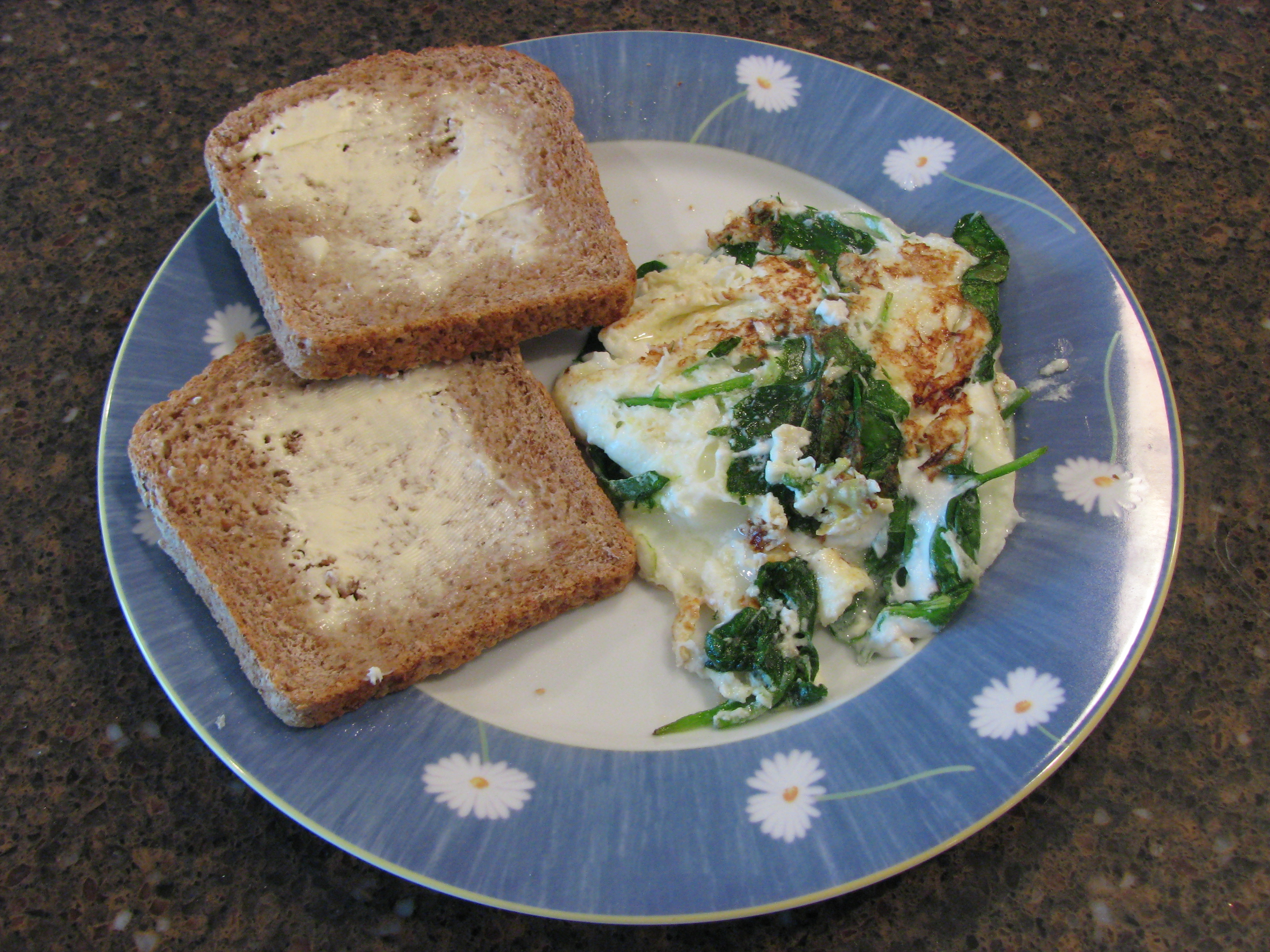Spinach And Goat Cheese Omelettes Duke S House