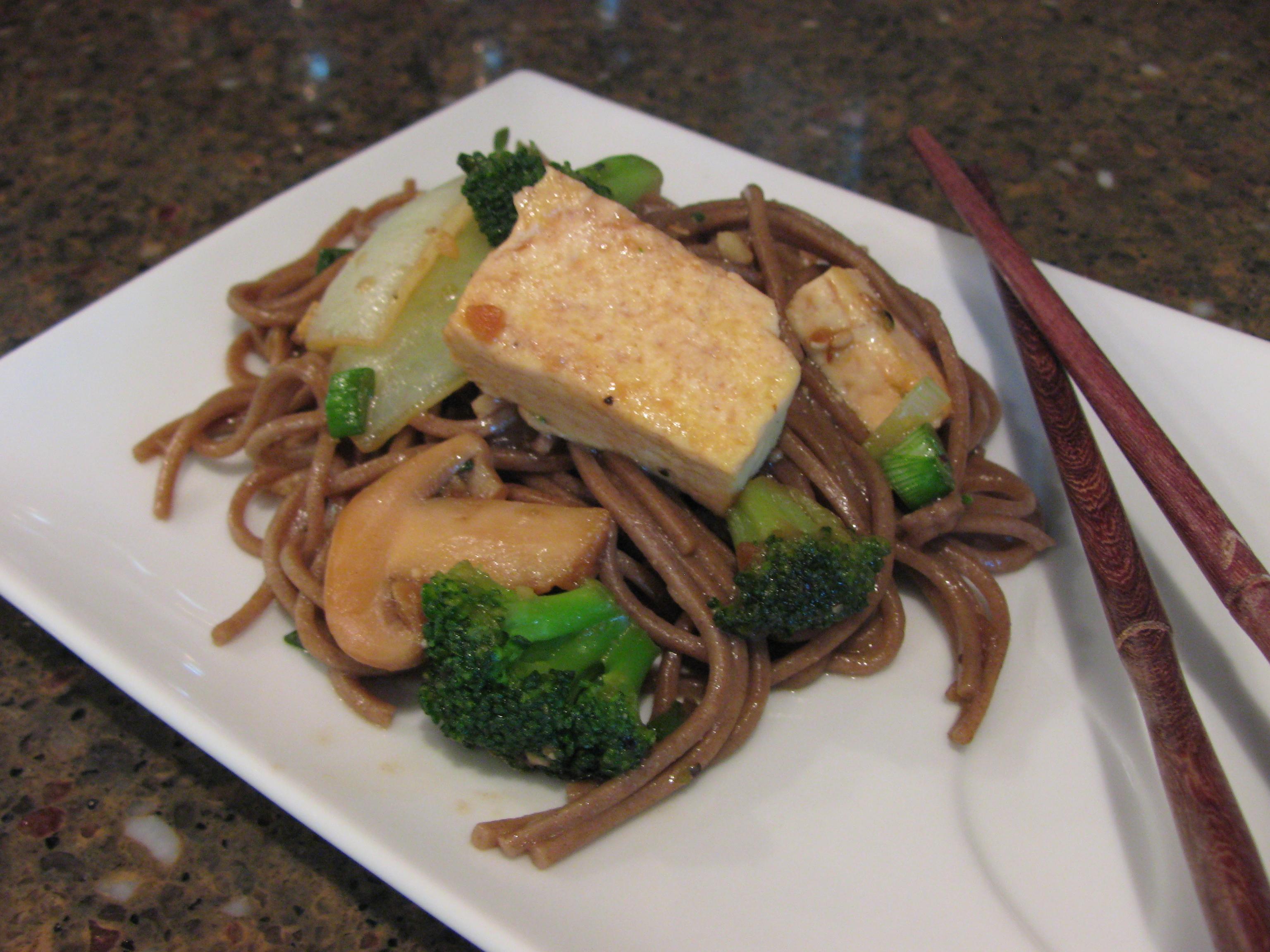 Broccoli Tofu and Soba Stir Fry | Duke's House