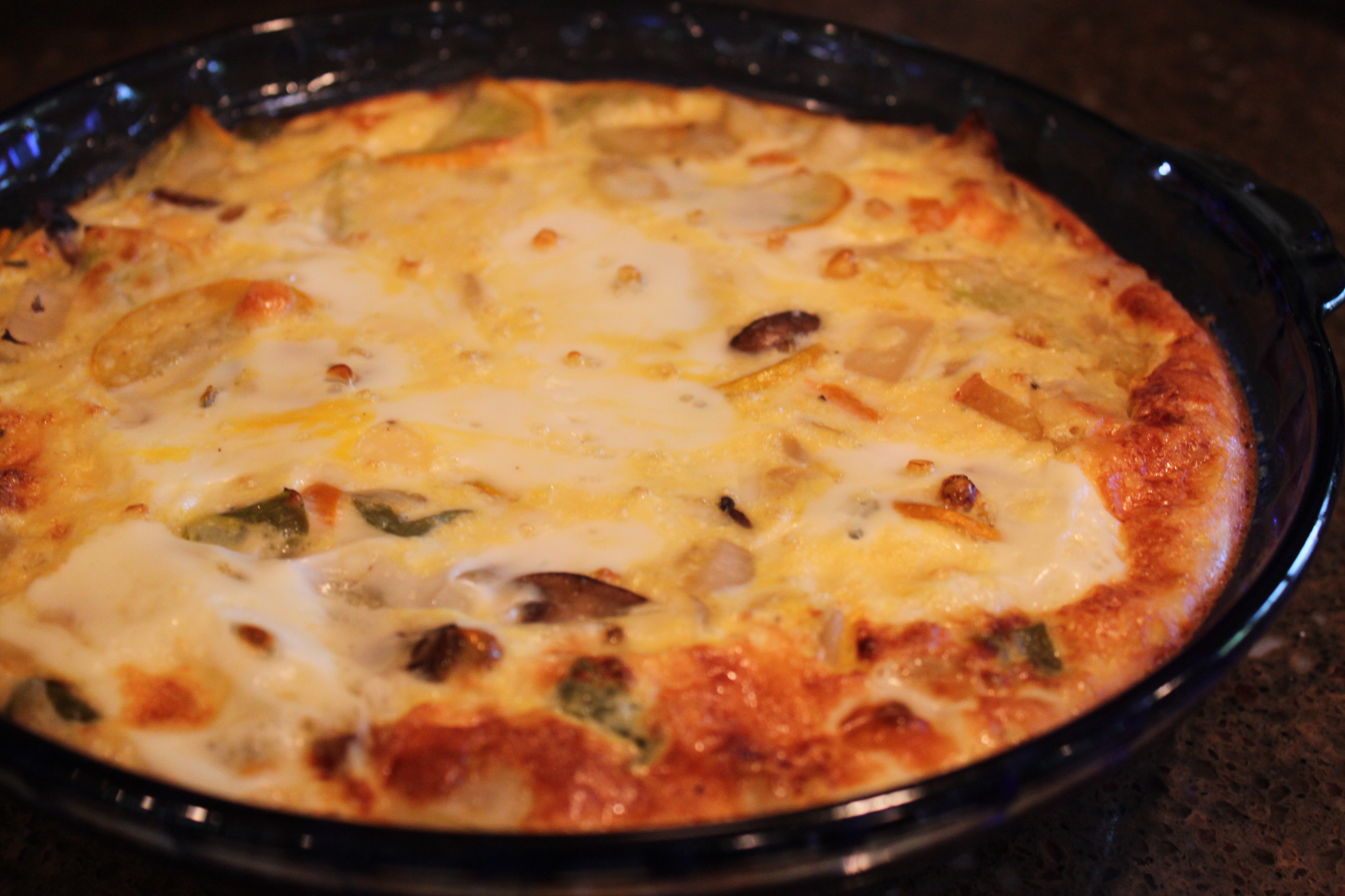 Fortunately my all-bake fritatta worked out. If you have a convection ...